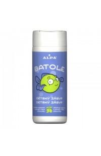 Batole детская присыпка с дезинфекцией и экстрактом из листьев оливкового дерева