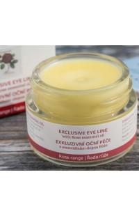 Эксклюзивный уход за кожей вокруг глаз с эфирным маслом розы