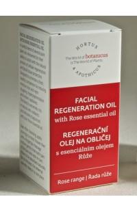 Восстанавливающее масло для лица с эфирным маслом розы