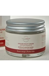 Ночной крем для век с эфирным маслом розы