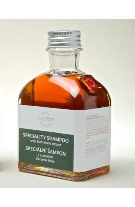 Специальный шампунь с экстрактом красной хны